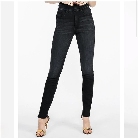 Express Perfect Curves High Waisted Legging Jean
